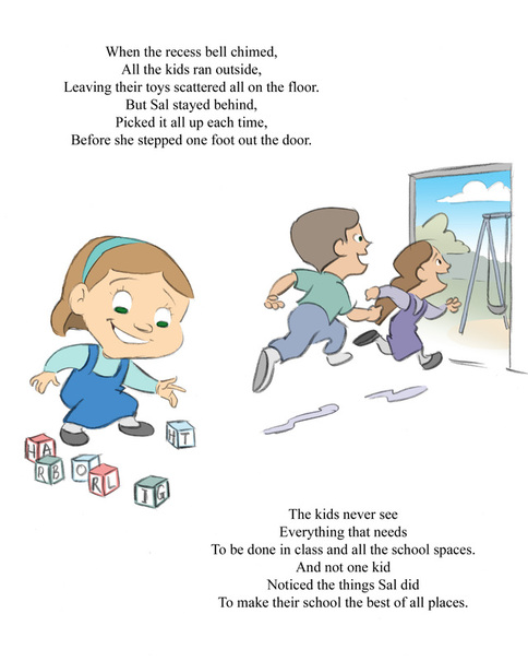 A page from a Christian children's book